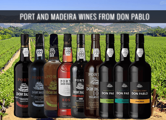 Check why the Don Pablo Ports and Madeiras have a great value for money