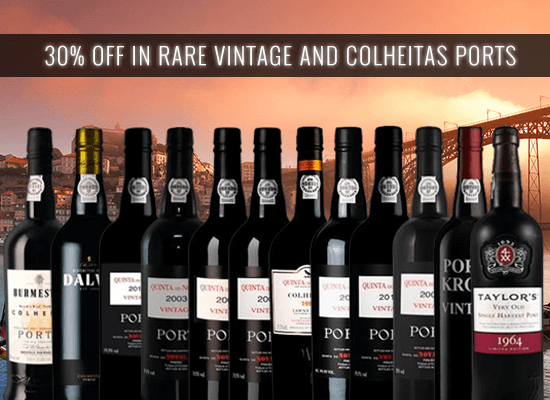 24 HOURS OPPORTUNITY: 30% discount in our most rare Vintage and Colheita Ports