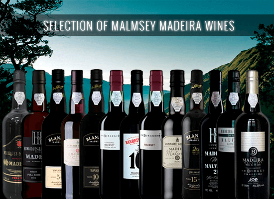 Our selection of Malmsey Madeira Wines to end the summer days with a great mood