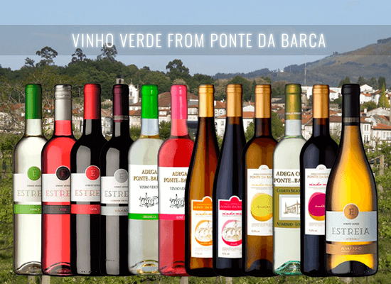 The Ponte da Barca wines are the perfect choice for those who want to try the classic vinho verde style