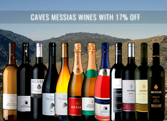 17% OFF in the Caves Messias new releases from Bairrada, Dão and Douro