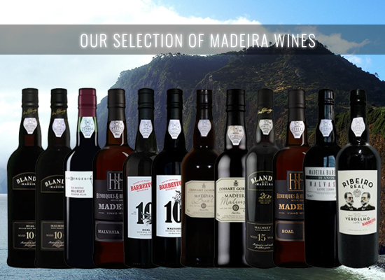 The aged Madeira wines in the Malmsey Full Rich style and Bual Medium Rich style