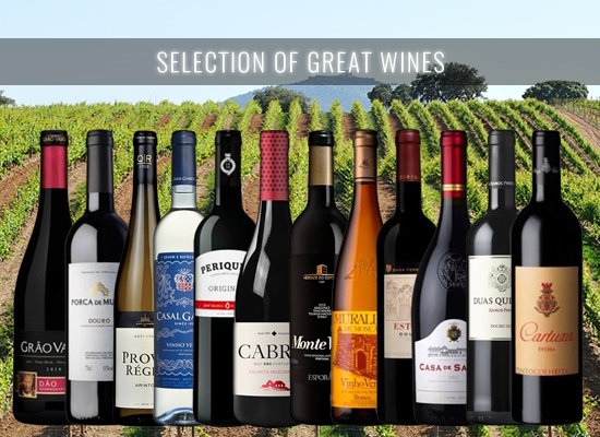 Our selection of red and white wines brands with decades of history but still very modern