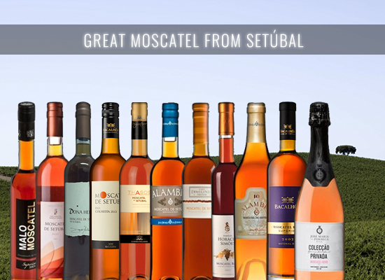 The unique style of the Moscatel de Setúbal, young or Aged.