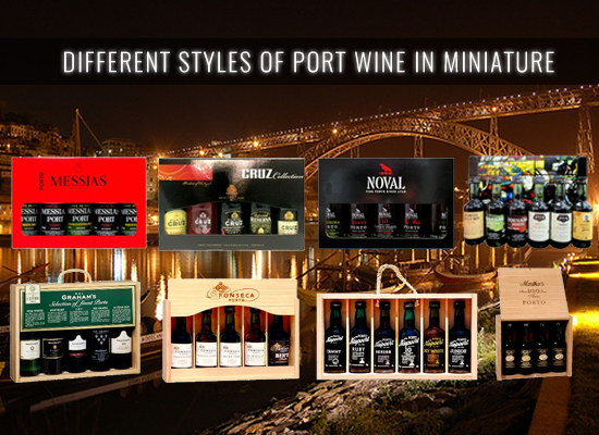 The miniatures sets are the best way to taste all different types of Ports and great as an offer to someone special