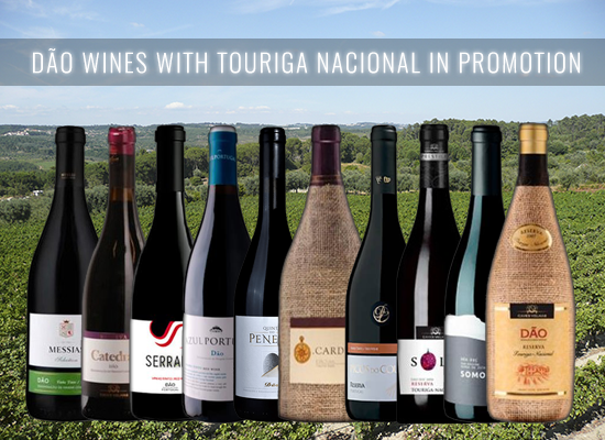 UP TO 20% OFF in a selection of Touriga Nacional Red Wines from the Dão wine region