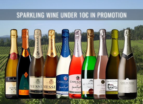 UP TO 24% in a selection of Sparkling wines under € 10