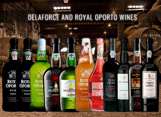 Let's celebrate the 250 years anniversary from Real Companhia Velha with a Royal Oporto or Delaforce Port Wine