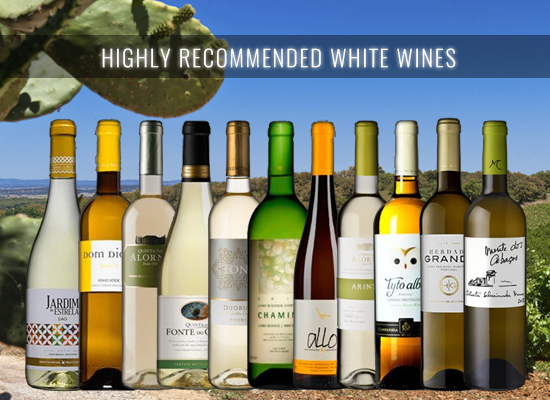 HIGHLY RECOMMENDED: 12 White Wines between €4 and €7 that you won't forget