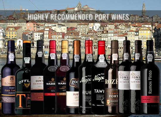 A selection of outstanding young Ports below €10