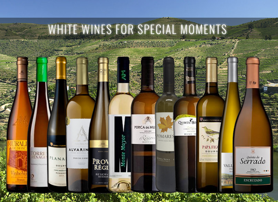 12 White Wines carefully selected to celebrate with friends