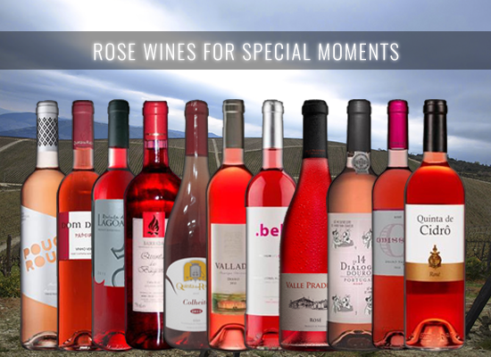 12 Rosé Wines carefully selected is a guaranteed celebration