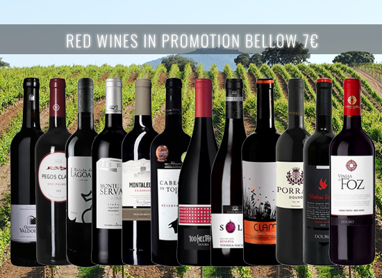 UP TO 21% OFF in a selection of Red Wines in the medium price range