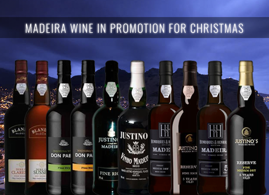 UP TO 21% OFF in original Christmas presents, the Madeira wines