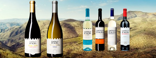 18% OFF in all the Castelo d'Alba Red and White Wines
