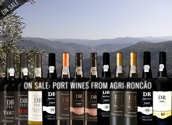14% OFF in the DR Ports Wines sourced in Quinta da Levandeira do Roncão