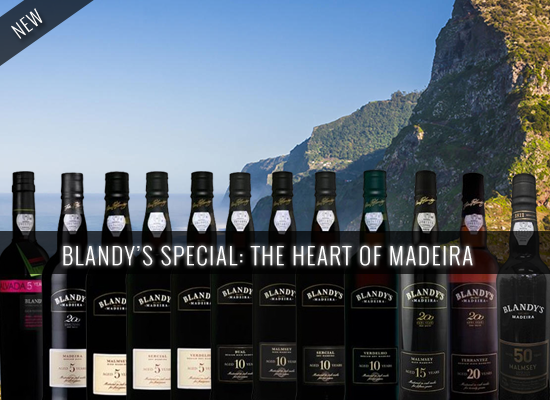 NEW IN STORE: The outstanding and innovative Blandy's 50 years old Malmsey