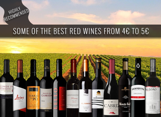 HIGHLY RECOMMENDED: Some of the best red wines from 4€ to 5€