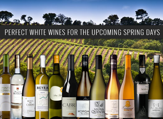 HIGHLY RECOMMENDED: Perfect white wines for the upcoming Spring days
