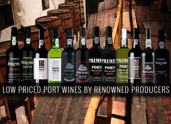 Low price Port Wines with the quality guaranteed by the big players of the industry