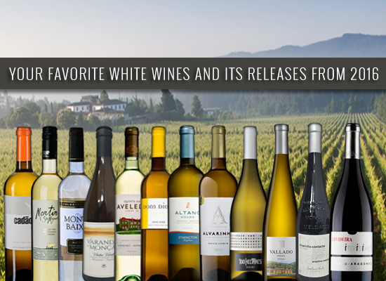 Your favourites white wines are back, with the new vintage releases from 2016