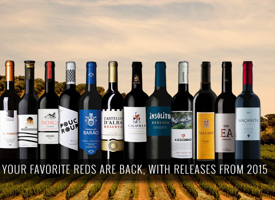 Your favorite reds are back, with releases from 2015