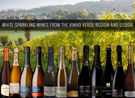 White sparklings from the Vinho Verde region and Lisboa