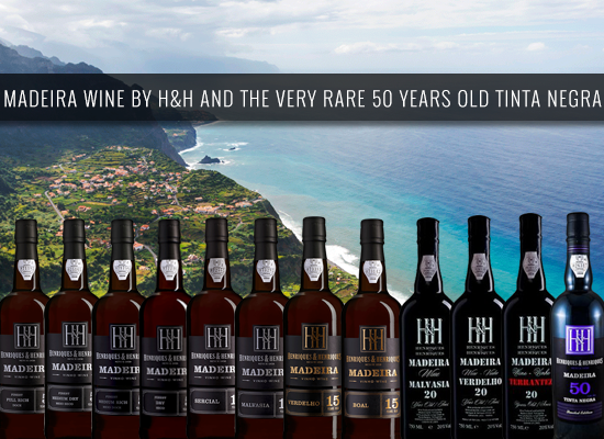 The heart of Madeira from Henriques & Henriques and their very rare 50 years old Tinta Negra