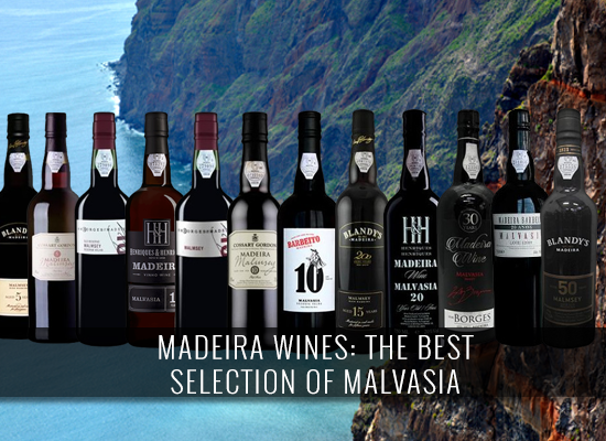 Madeira wines: The Best Selection of Malvasia