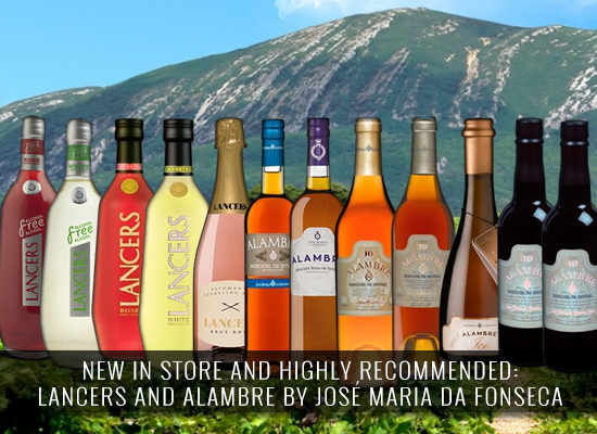 NEW IN STORE AND HIGHLY RECOMMENDED: Lancers Free and Alambre ICE by José Maria da Fonseca