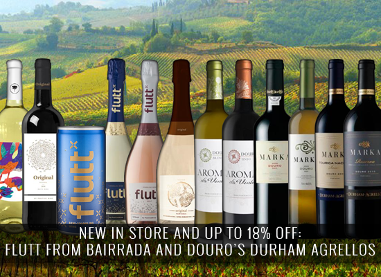 NEW IN STORE AND UP TO 18% OFF: Flutt from Bairrada and Douro's Durham Agrellos