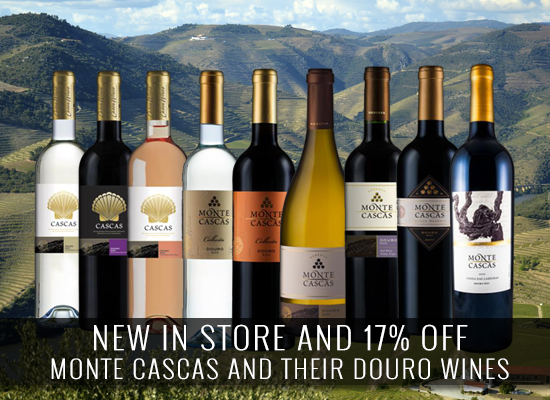 NEW IN STORE AND 17% OFF: Monte Cascas and their Douro selections