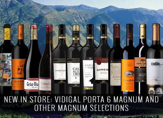 NEW IN STORE: Vidigal Porta 6 Magnum and other Magnum selections