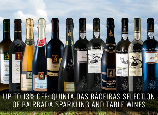 13% OFF in the Bairrada wines from Quinta das Bágeiras