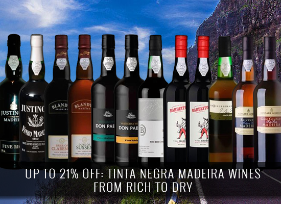Tinta Negra Madeira wines that range from rich to dry