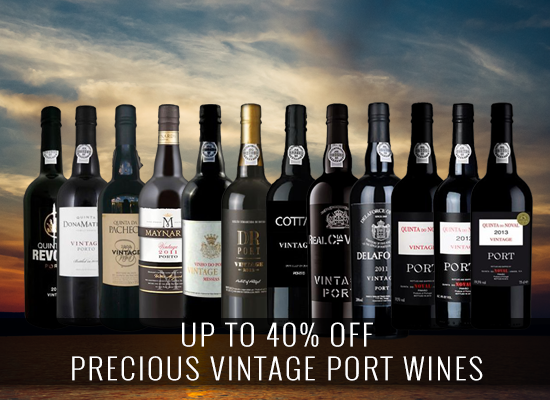 UP TO 40% OFF: Precious Vintage Port Wine