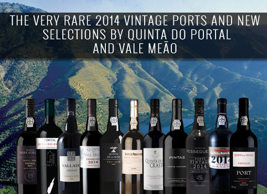 The very rare 2014 vintage Ports and new selections from Quinta do Portal and Vale Meão