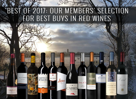 BEST OF 2017: Our members selection for Best Buys in red wines