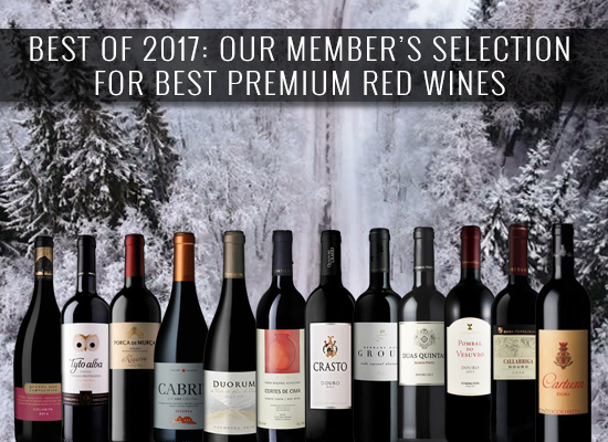 BEST OF 2017: Our members' selection for Best Premium red wines