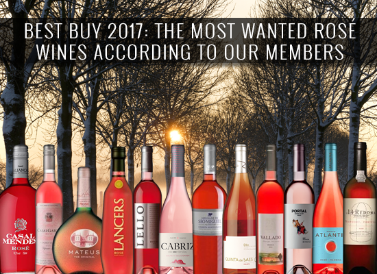 BEST BUY 2017: The most wanted rosé wines according to our members