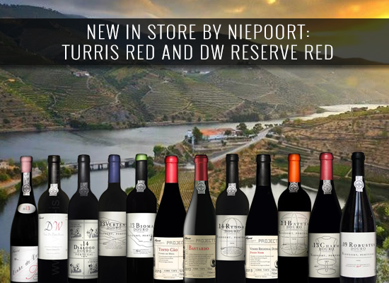 NEW IN STORE BY NIEPOORT: Turis red and DW Reserve red