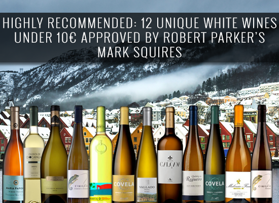 HIGHLY RECOMMENDED: 12 unique white wines under 10€ approved by Robert Parker's Mark Squires