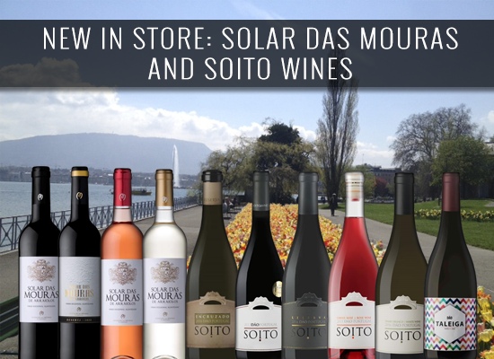 NEW IN STORE: Solar das Mouras and Soito Wines