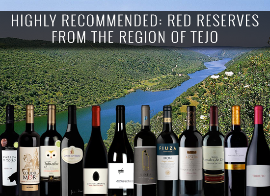 HIGHLY RECOMMENDED: Red reserves from the region of Tejo