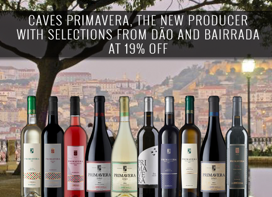 Caves Primavera, the new producer with selections from Dão and Bairrada at 19% OFF