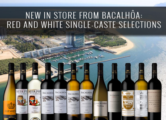 NEW IN STORE from Bacalhôa: red and white varietal selections