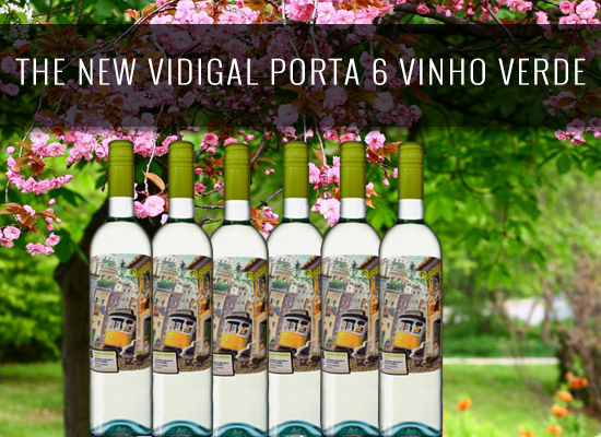 The new Vidigal Porta 6 Vinho Verde