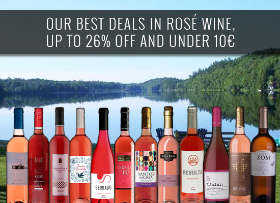 Our best deals in rosé wine, UP TO 26% OFF and under 10€