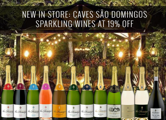 NEW IN STORE: Caves São Domingos sparkling wines at 19% OFF