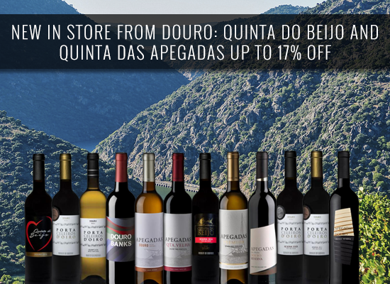 NEW IN STORE FROM DOURO: Quinta do Beijo and Quinta das Apegadas UP TO 17% OFF